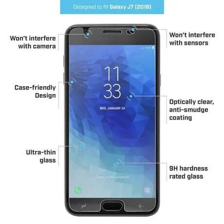 Galaxy J7 Pure 2 Glass